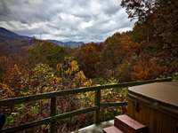 View from the Hot Tub deck on a Cloudy Day. Nature is always altering the Landscape... thumb