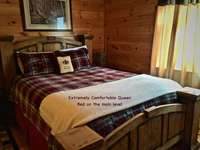 Comfortable and Updated Queen Bed on the main level thumb