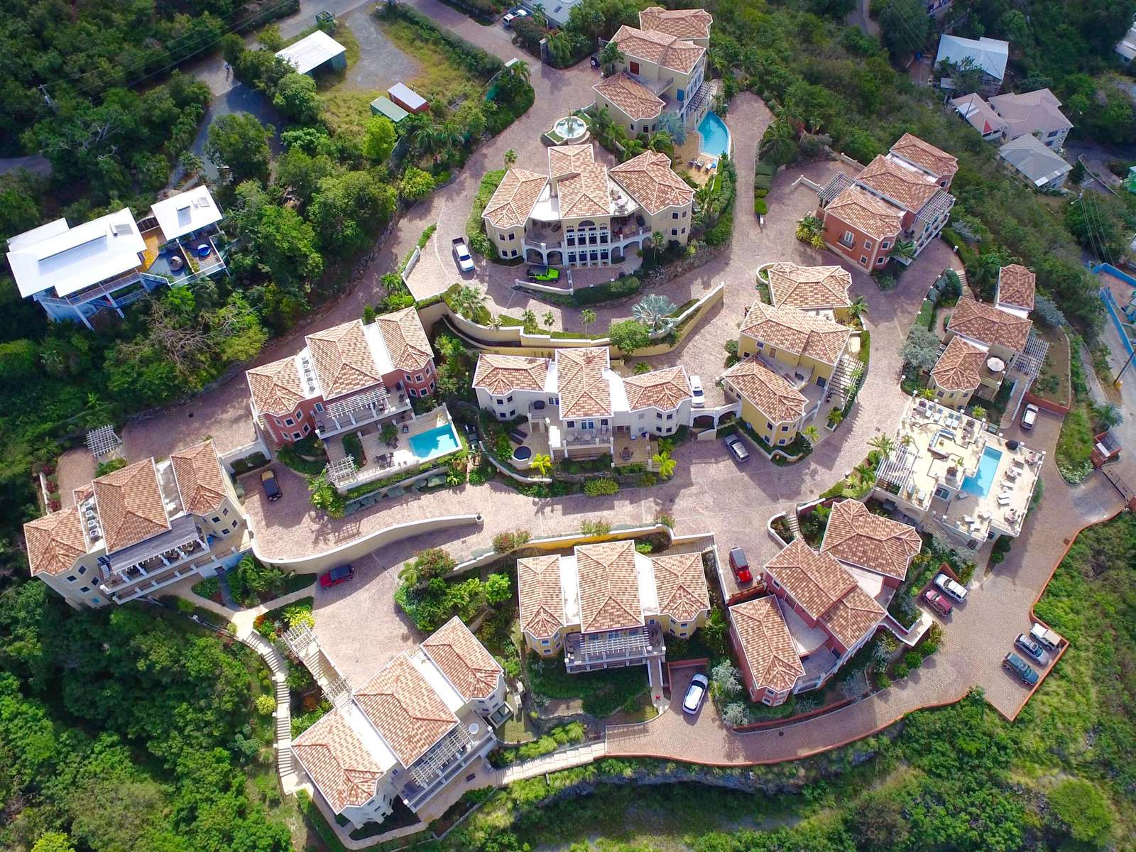 Aerial View of The Hills St. John