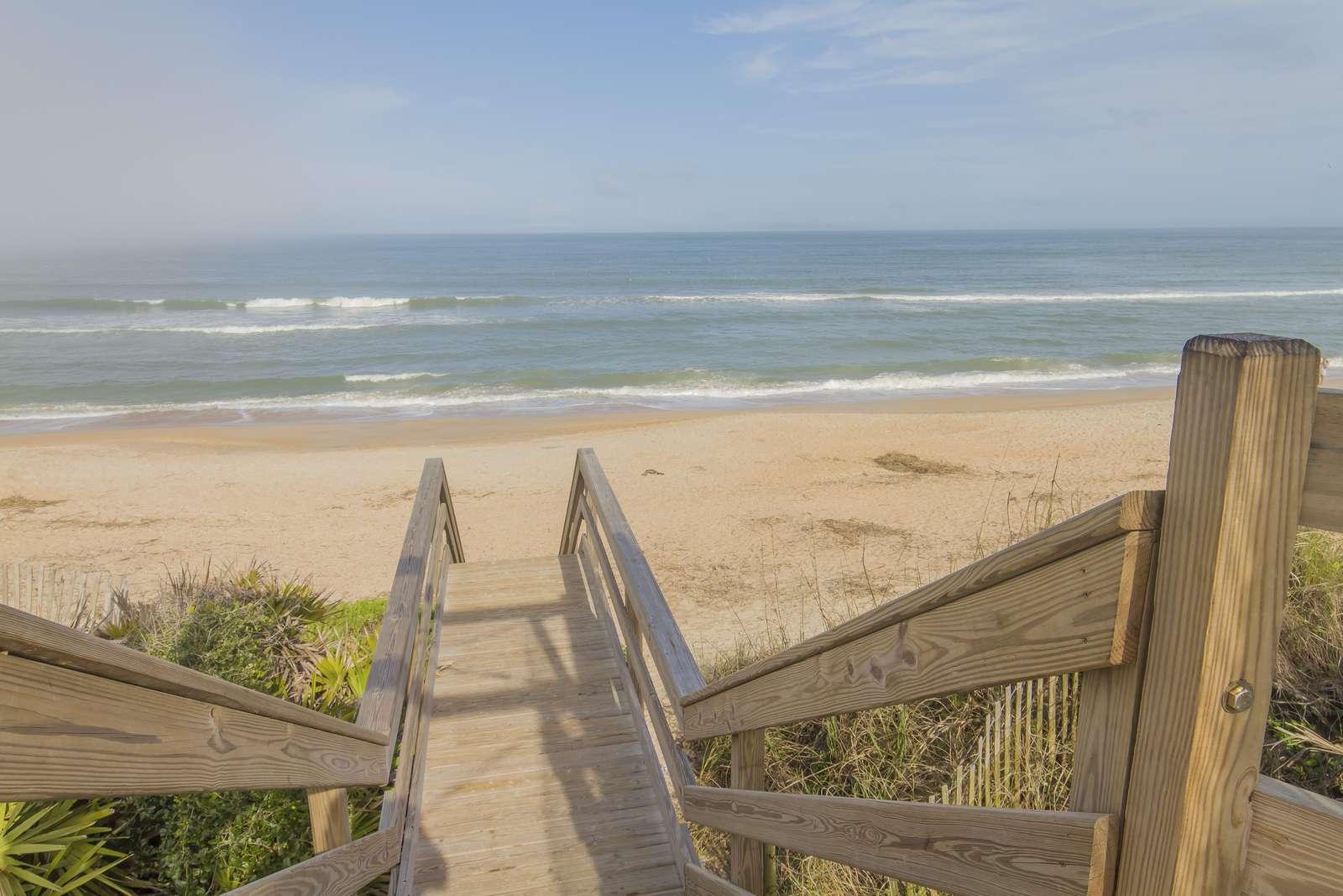 Walk-over to Beach