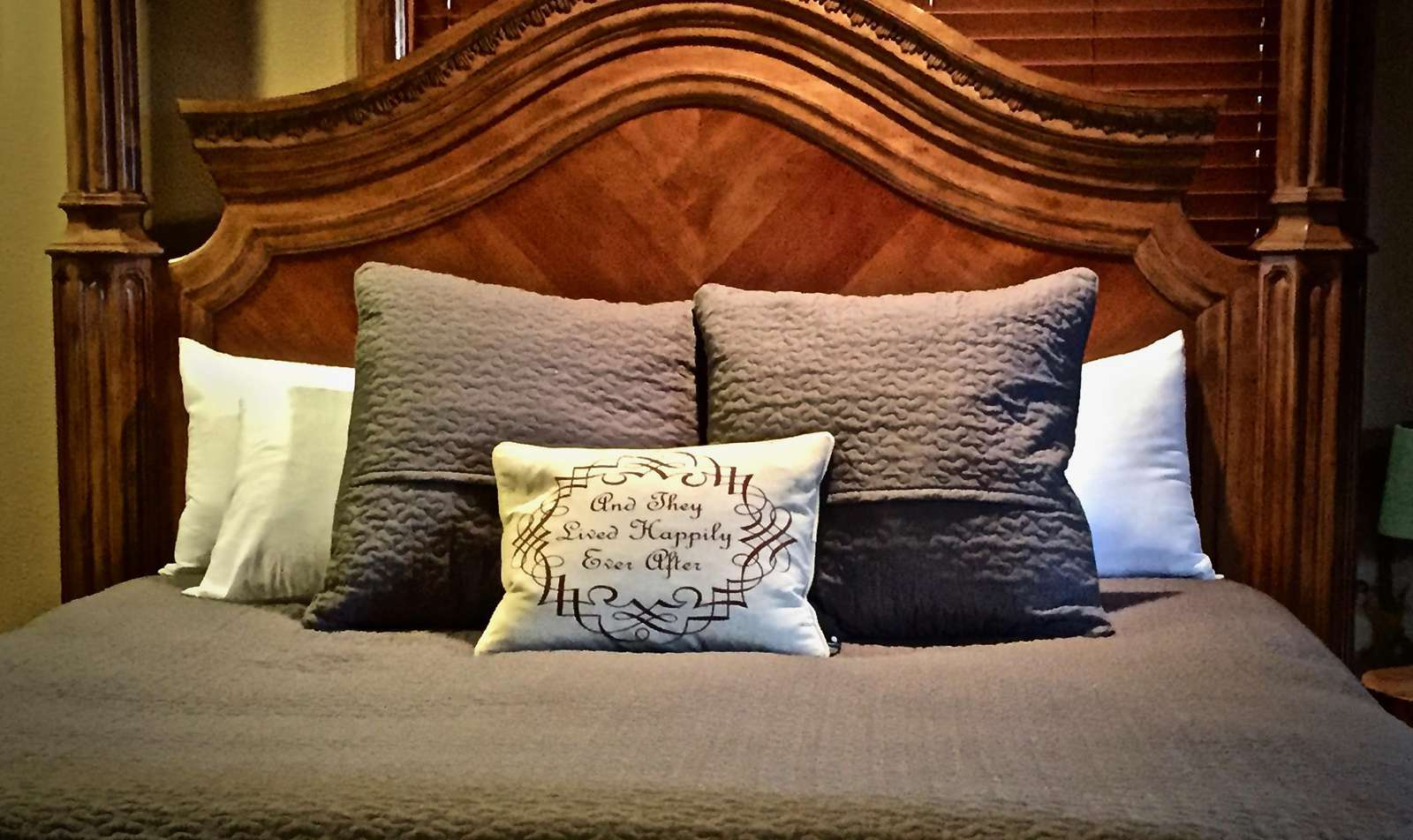 Decadent, Luxurious, Very Romantic, and Spacious Master Suite!