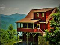 Awe inspiring Views of the Cabin as you arrive! thumb