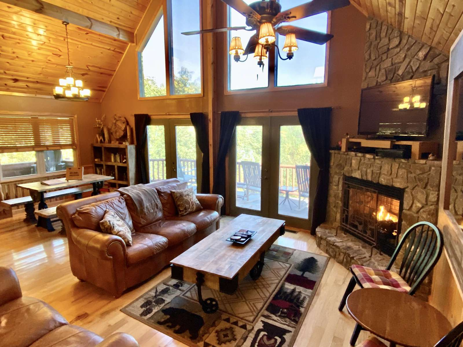 Main Level Offers a Spacious and Open Great Room Floor Plan that is ideal for Entertaining and Gathering