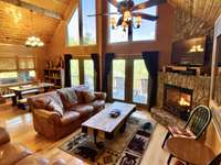 Main Level Offers a Spacious and Open Great Room Floor Plan that is ideal for Entertaining and Gathering thumb