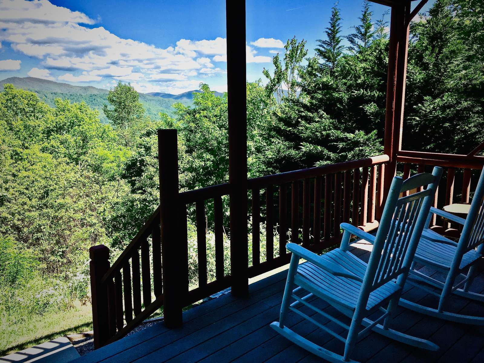 Lower Deck off the Master Bedroom