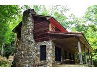 Cabin is at the end of the road, on 25 Beautiful Acres. thumb