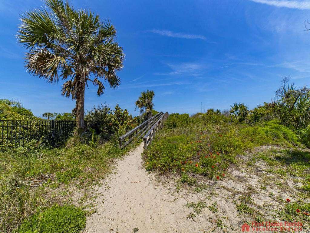 Magnolia Beach House Beach Path to Walkover