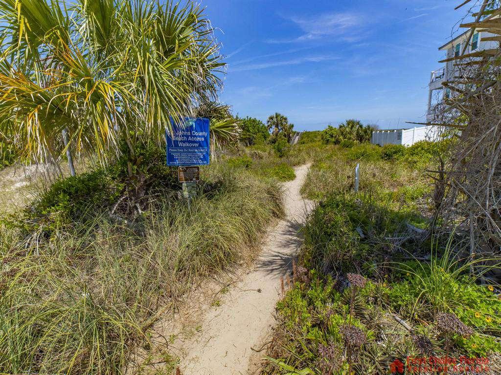 Magnolia Beach House - Beach Path