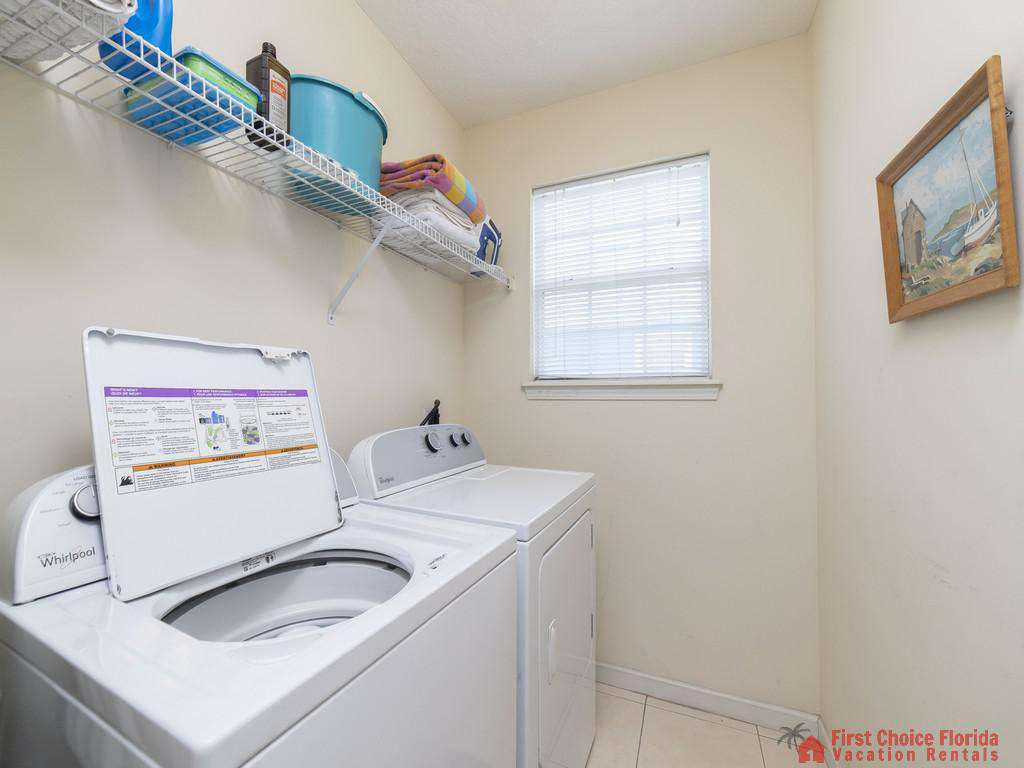 Magnolia Beach House - Washer and Dryer