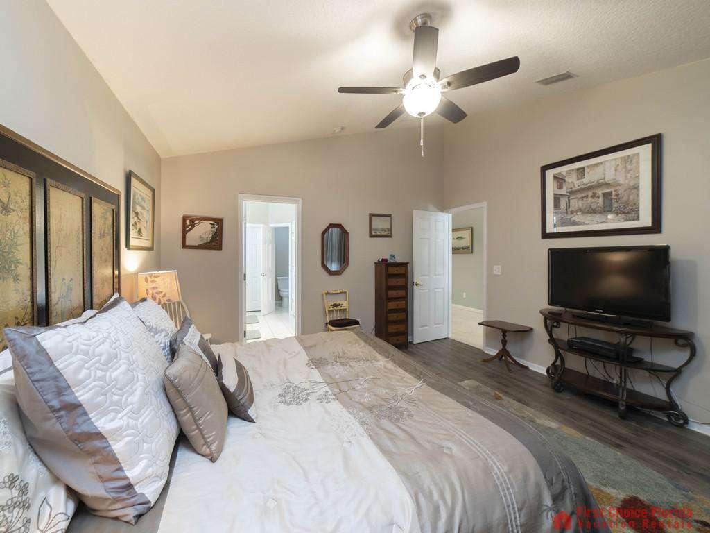 Magnolia Beach House - Master Bedroom