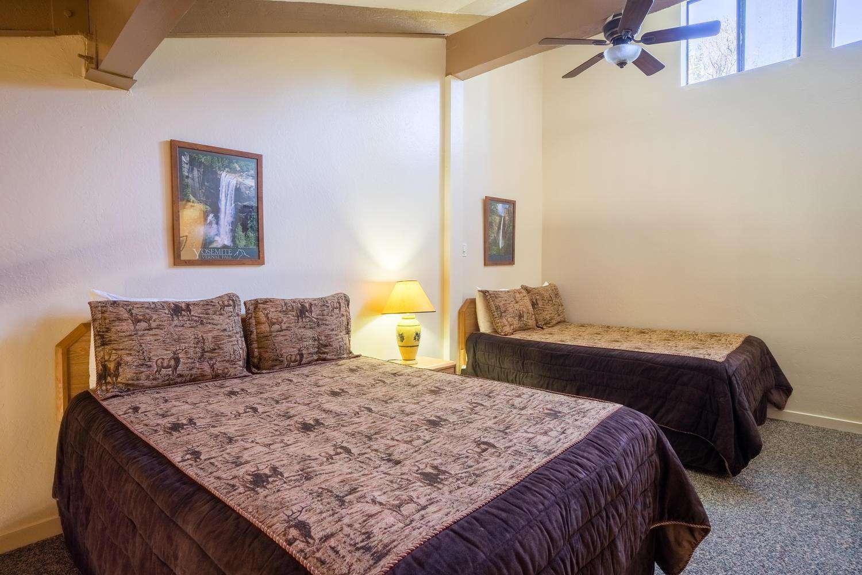 Your 2 queen beds in the loft.