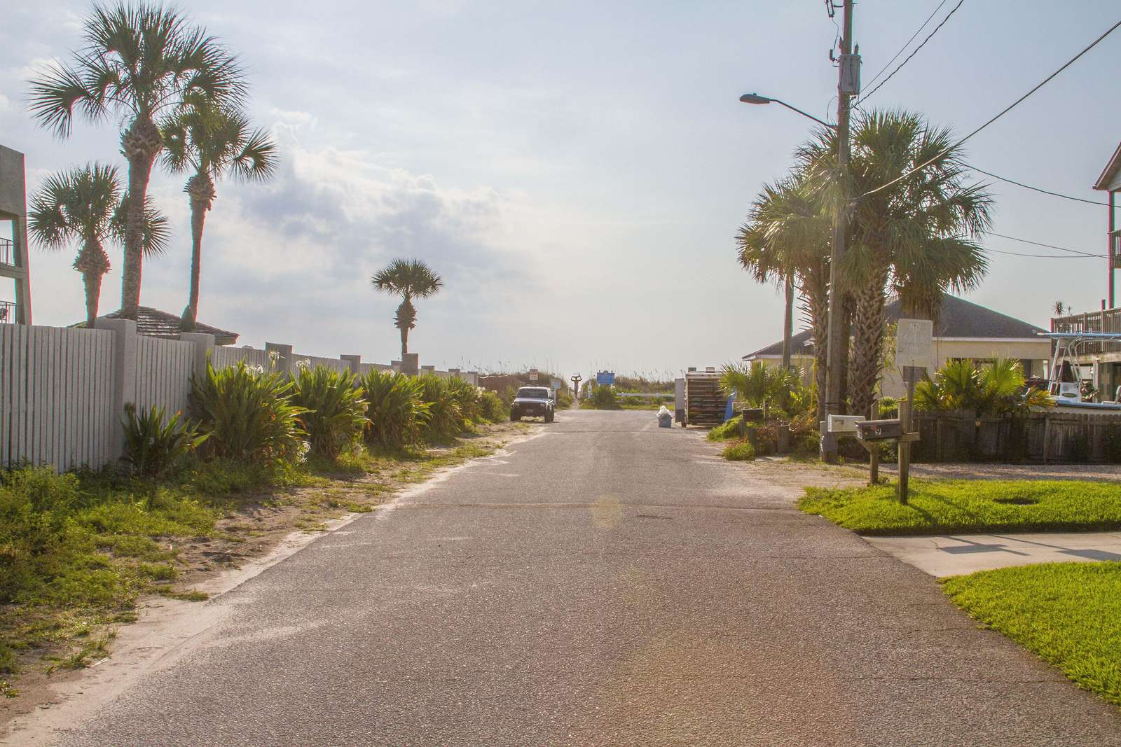 Only a few homes off of beach!
