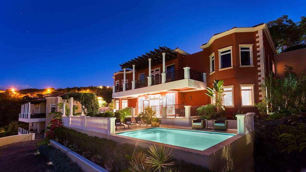 Mahogany is the top villa.
