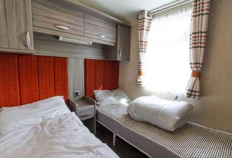 Caravan for rent at Haven Hopton in Norfolk