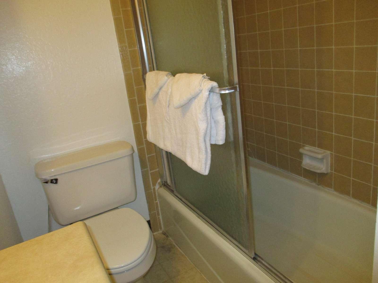 Shower/tub.