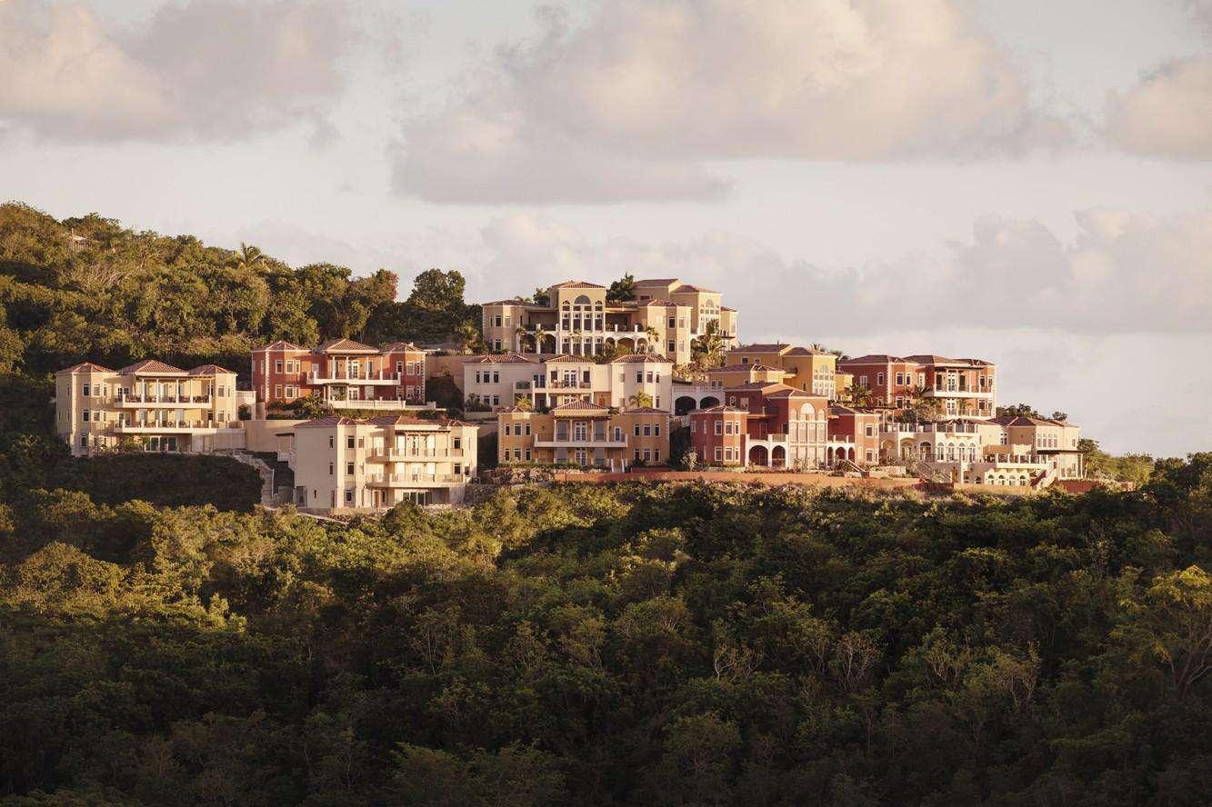 View from Cruz Bay