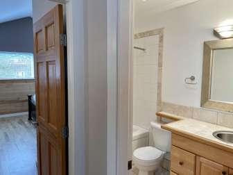 Top floor hall to bedroom and bathroom thumb