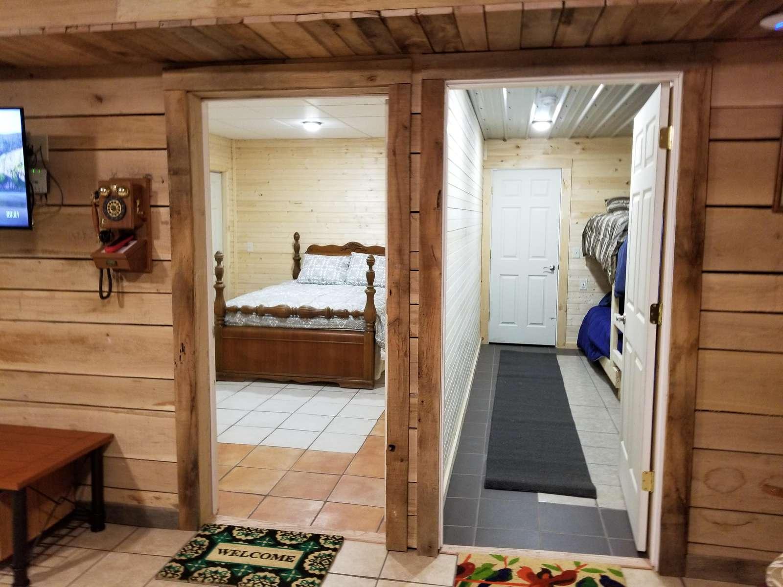 Living Room facing Bedrooms