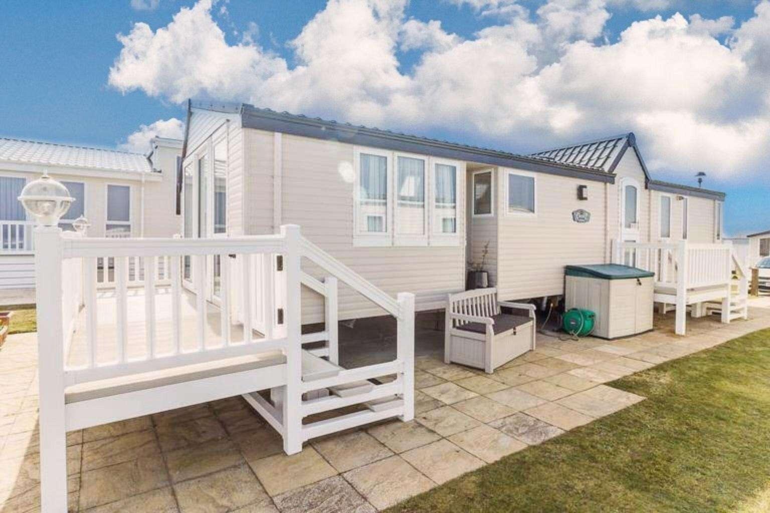4 berth accommodation at Hopton Holiday Village