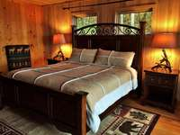 Very Comfortable King Bed with Luxury Linens is positioned to enjoy the Views! thumb