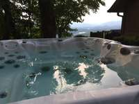 Completely PRIVATE Hot Tub is placed under the stars! thumb