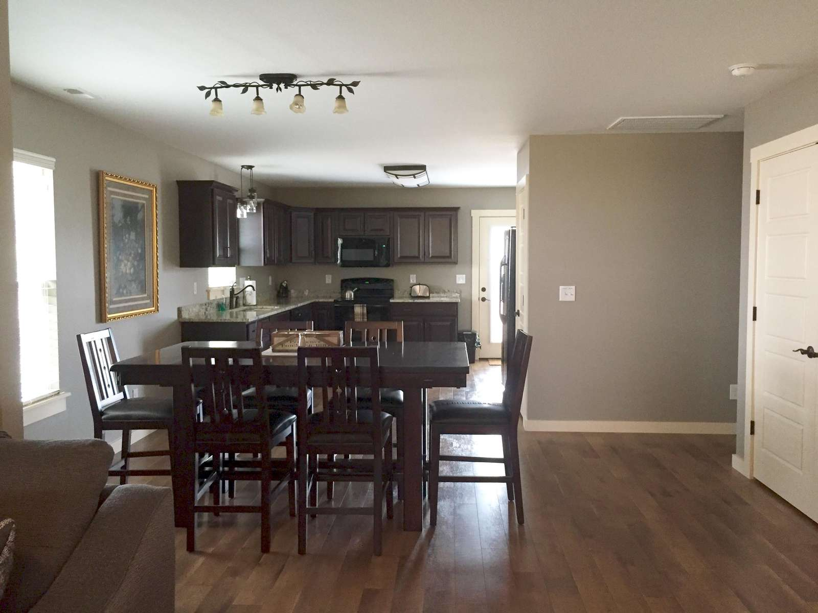 Dikning Room and Kitchen