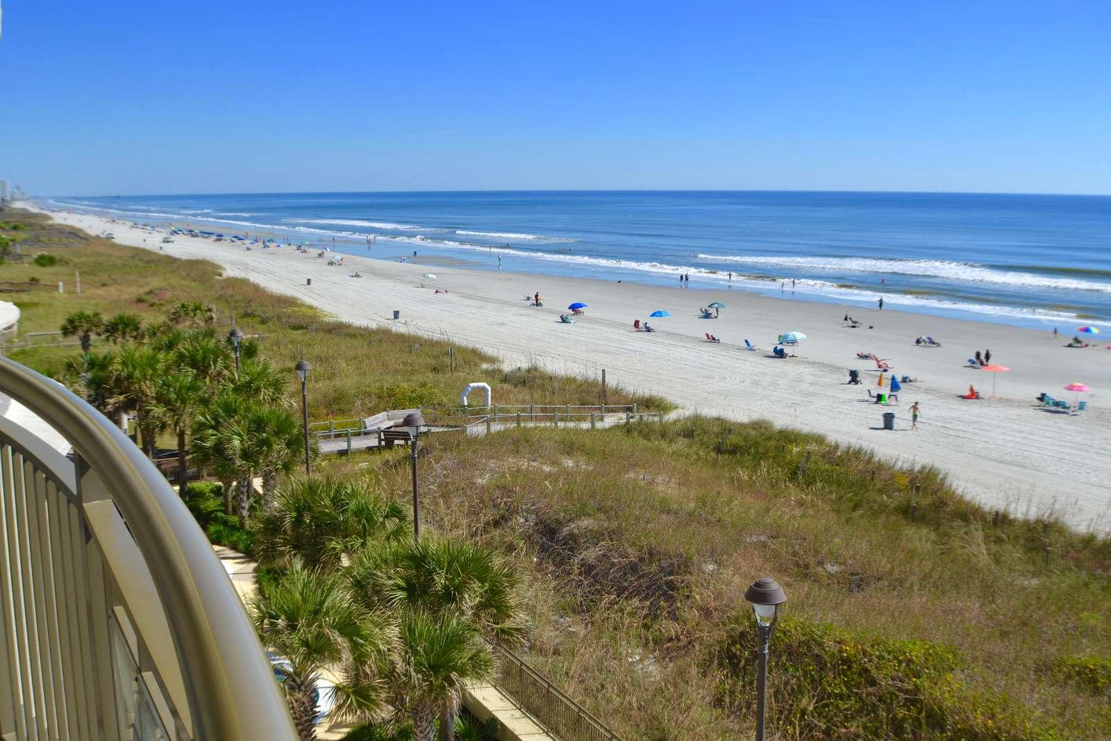 Sweeping coastal views