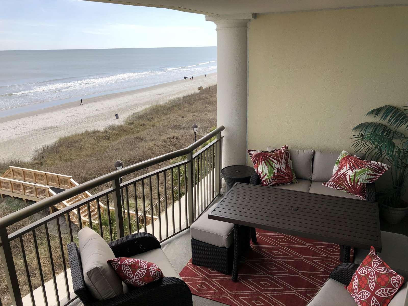 Beautiful new balcony furniture