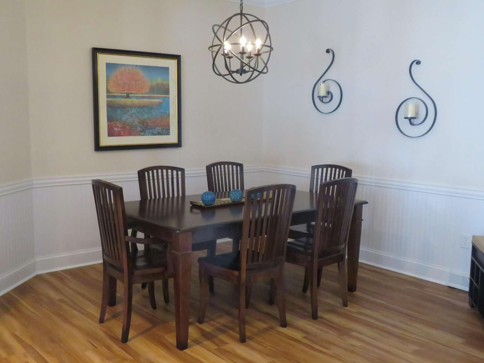 Dining area (additional chairs also available)