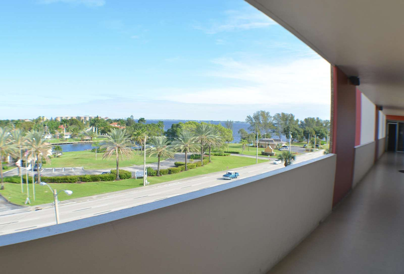 View from the breezeway