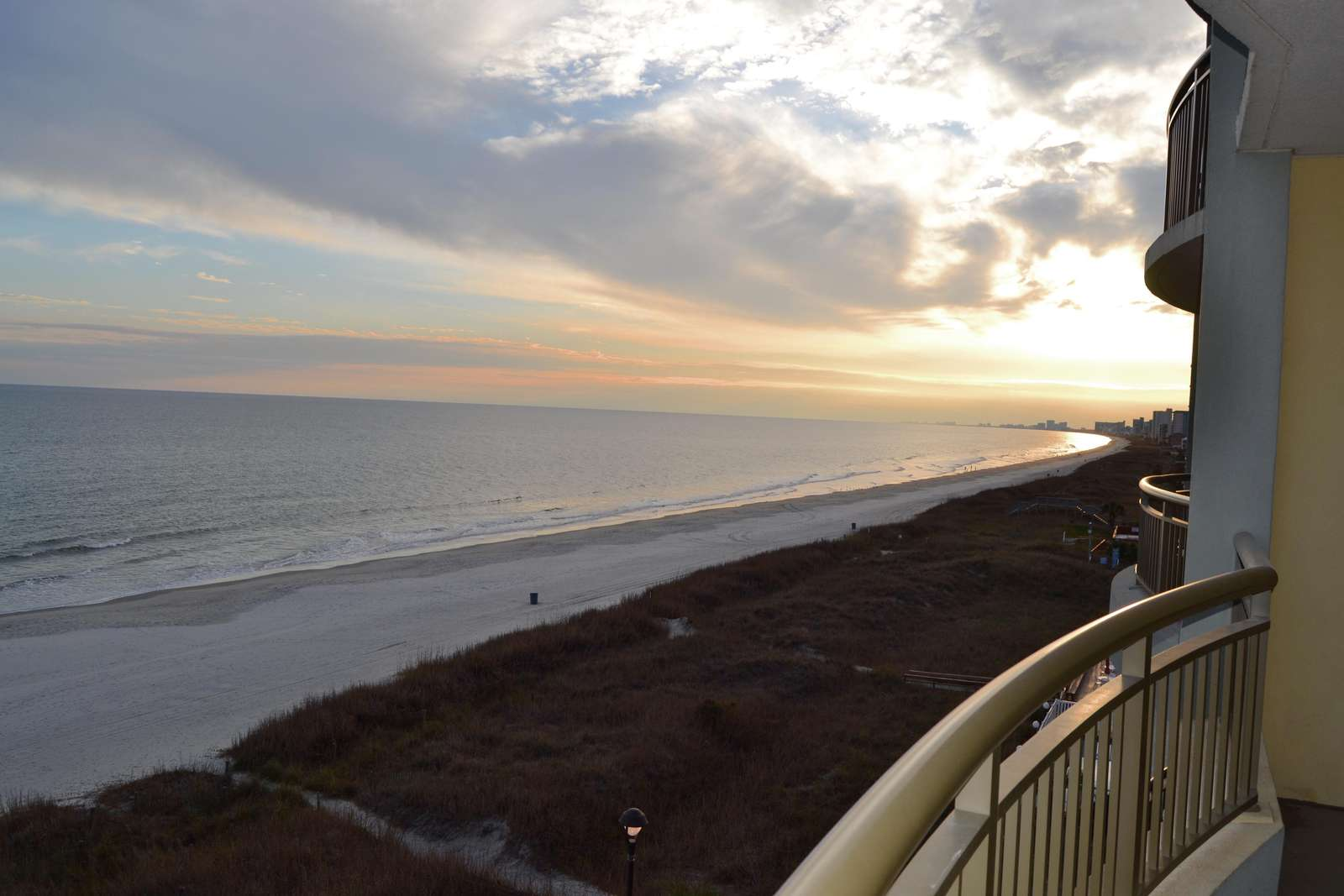 Southern coastal oceanfront views