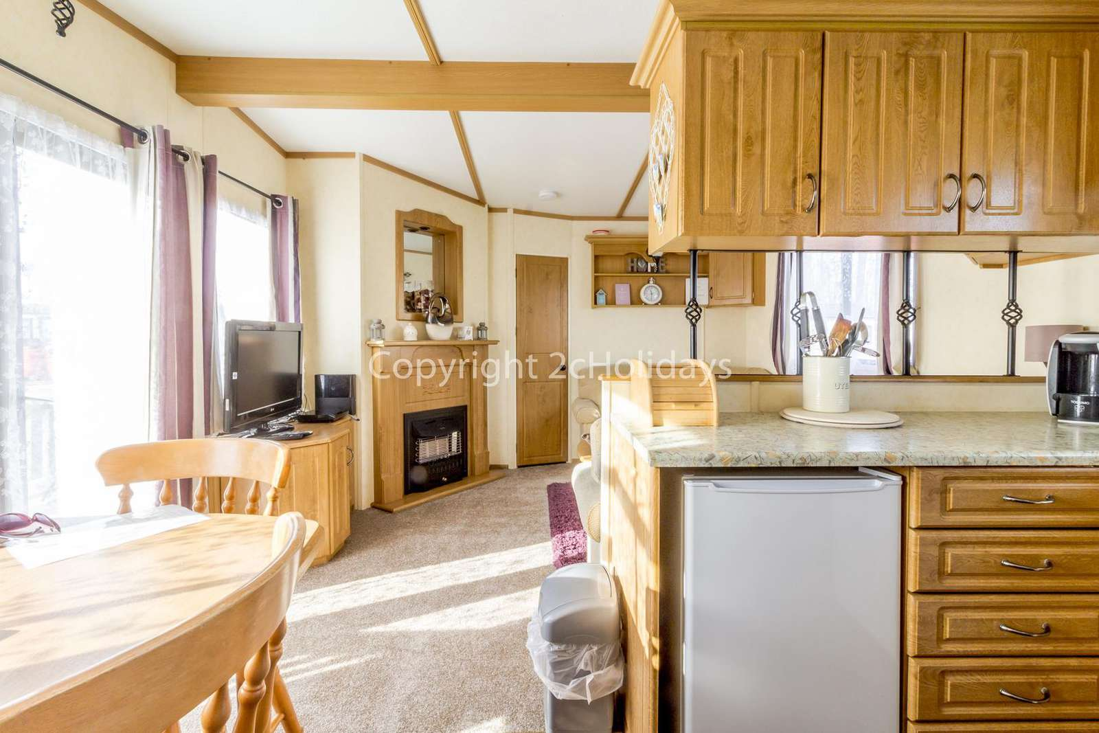 Spacious and cosy, great for families!