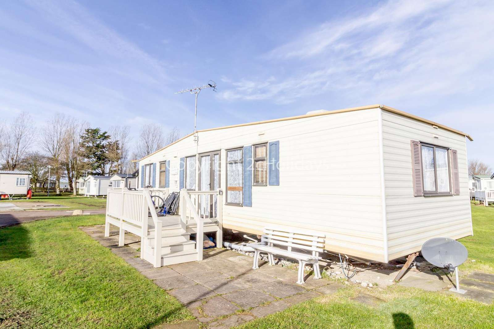 Stunning caravan located on a quieter area of the park!