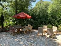 Beautiful new patio and seating area thumb