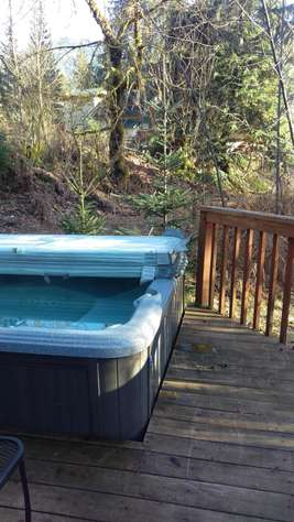 Hot Tub with a view (winter)