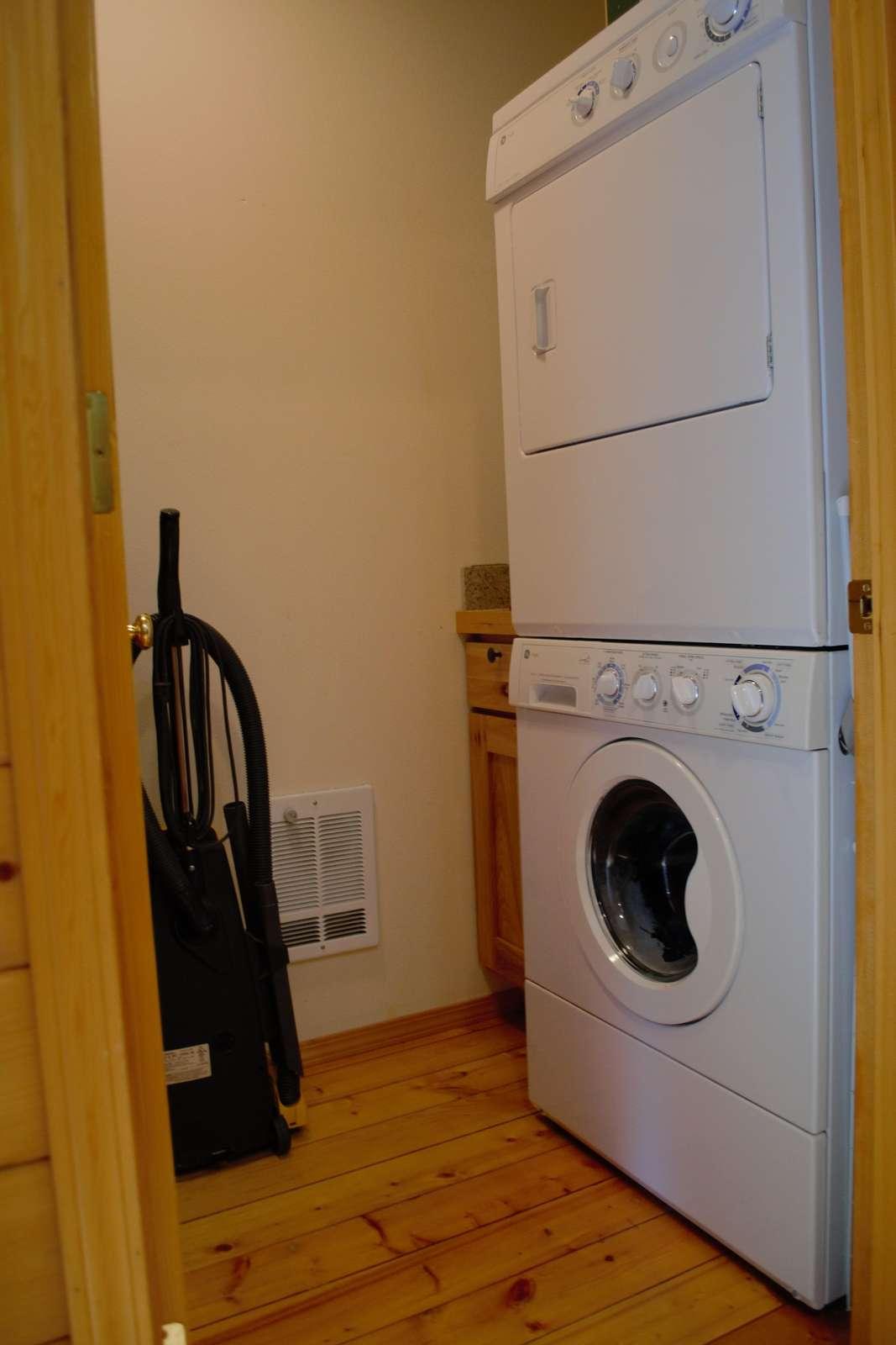 Large Washer & Dryer