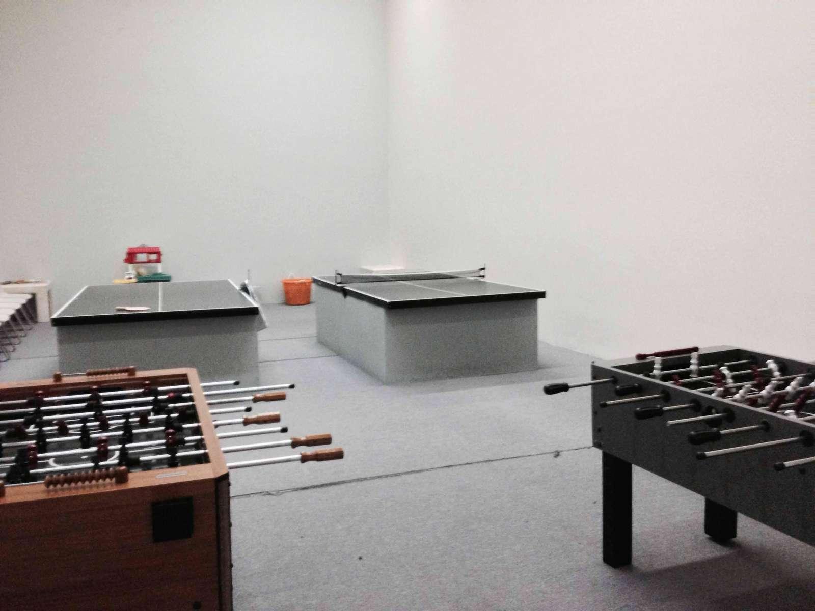 Play Ping Pong or Foosball