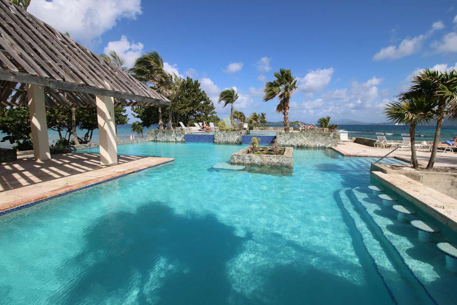 Refreshing Pool on the Ocean