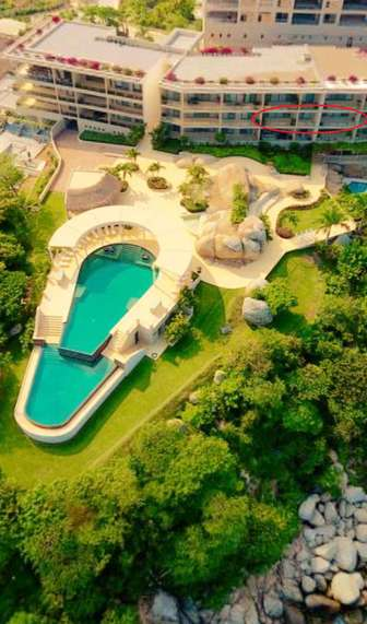 Excellent front row location, great views, steps to two pools, restaurant and beach thumb