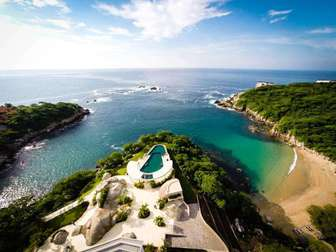 Gorgeous aerial of the featured Peninsula pool thumb