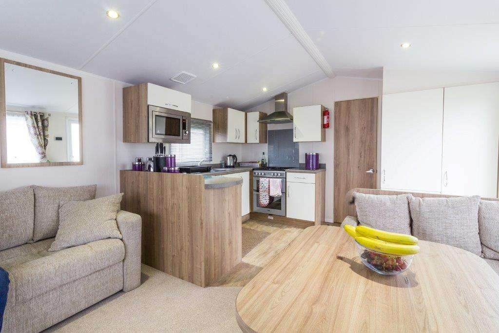Caravan for hire in Great Yarmouth, Norfolk
