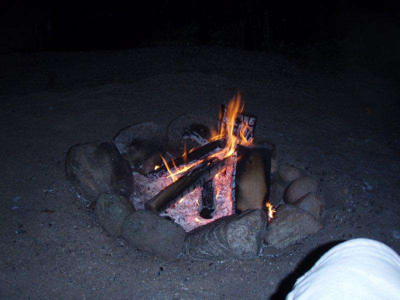Firepit by the water...
