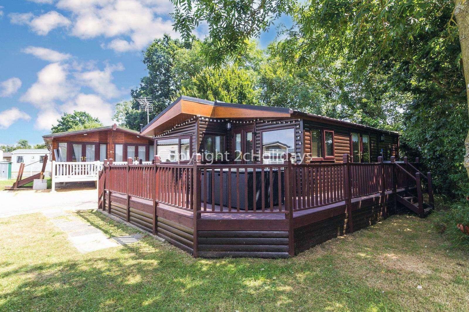 7 berth accommodation at Carlton Meres Holiday Park