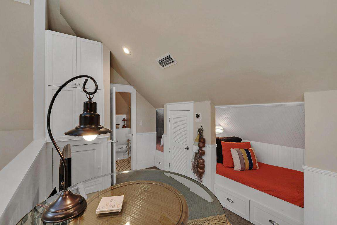 Loft Bedroom with Wet Bar and 2 Twin Beds