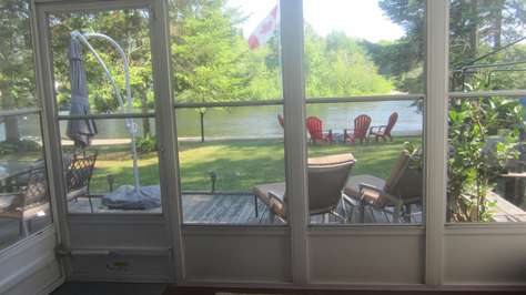View from the sunroom
