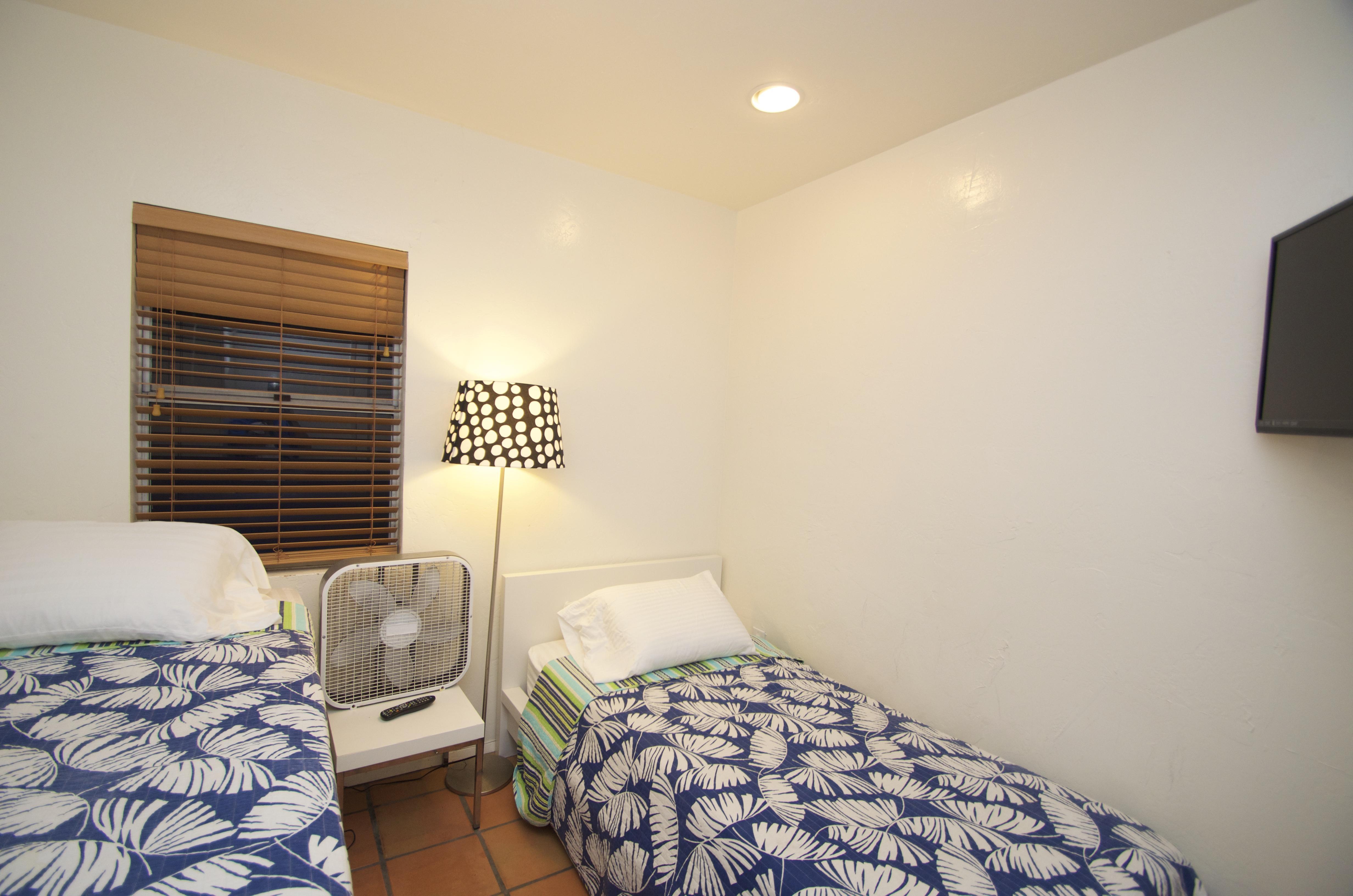 Middle upstairs bedroom sleeps 2