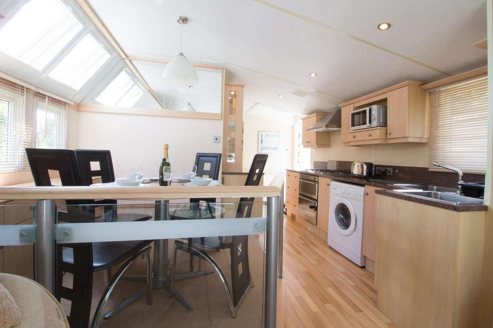 Double glazed and central heated to rent through 2cholidays