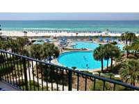 View of Large Lagoon Pool/Beach behind Tower 1 thumb