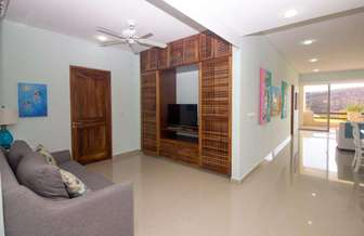 Den with fold out bed, SMART TV and Satellite thumb