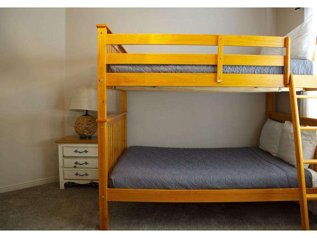 Bedroom 2 - 2 Full Beds (Bunks)